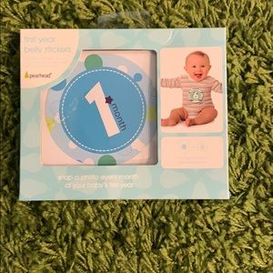 Pearhead Milestone First Year Belly stickers
